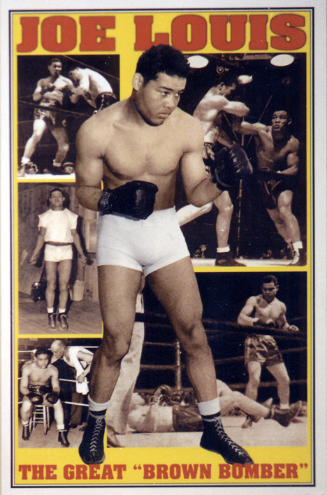 Joe Louis-The Brown Bomber-American Professional Heavyweight Boxing Champion